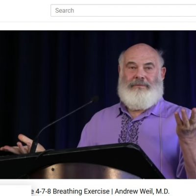 Andrew Weil Breathing Exercise
