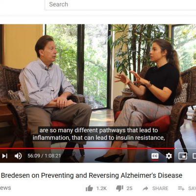 Ending Alzheimer's: Dr. Bredesen and Rhonda Patrick Podcast