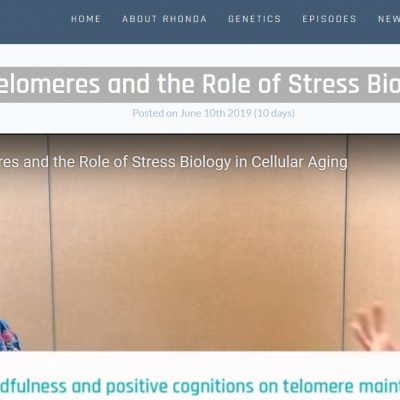 Dr. Elissa Epel on Telomeres and the Role of Stress Biology in Cellular Aging