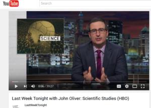 John Oliver Science