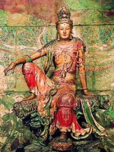 kuan-yin-seated  acupuncture for stress
