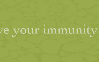 Improve your immunity system